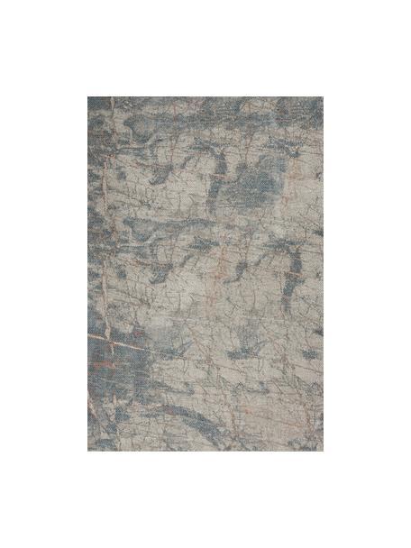 Tappeto fantasia grigio/blu/beige Rustic, Retro: lattice, Grigio, blu, beige, Larg. 120 x Lung. 180 cm (taglia S)