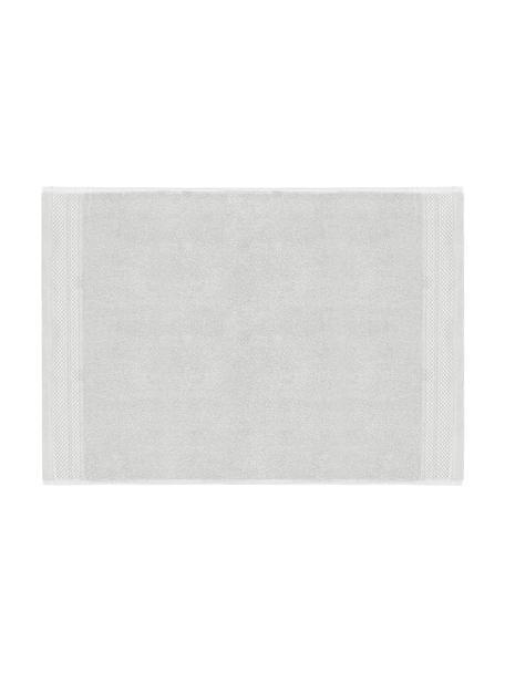 Tappeto bagno antiscivolo Premium, 100% cotone, qualità pesante 600g/m², Grigio chiaro, Larg. 50 x Lung. 70 cm