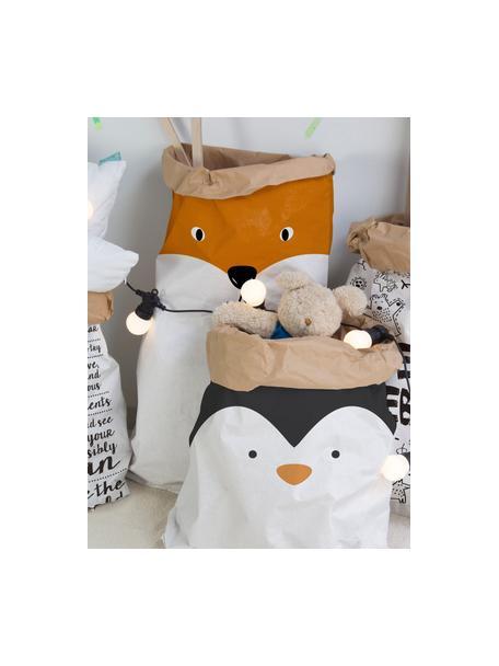 Busta in carta Fox, Carta riciclata, Bianco, arancione, nero, Larg. 60 x Alt. 90 cm