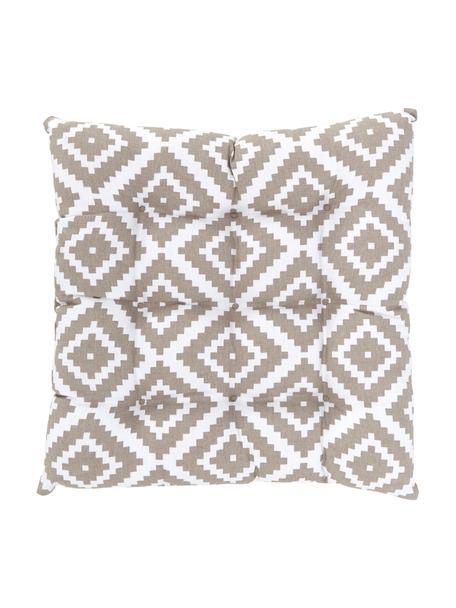 Poduszka na krzesło Miami, Beżowy, S 40 x D 40 cm