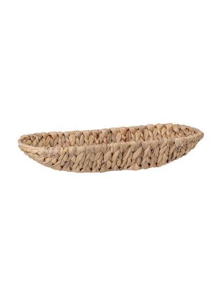 Kosz na pieczywo z hiacyntu wodnego Nature, Hiacynt wodny, Beżowy, S 36 x W 7 cm