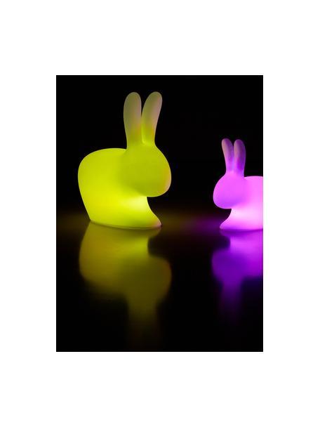 Lampada da terra portatile e dimmerabile Rabbit, Lampada: materiale sintetico, Bianco, Larg. 45 x Alt.53 cm