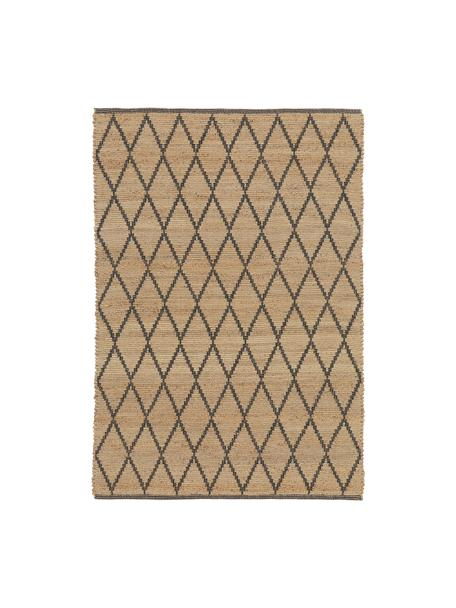 Handgefertigter Jute-Teppich Atta, 100% Jute, Beige, B 120 x L 180 cm (Größe S)