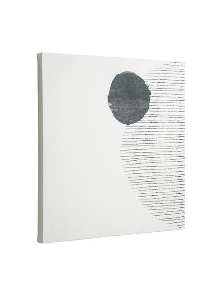 Canvas print Prisma, Afbeelding: canvas, Wit, zwart, 50 x 50 cm