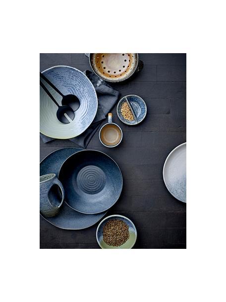 Salatbesteck Handrin in Schwarz, 2er-Set, Edelstahl 14/1, lackiert, Schwarz, L 28 cm
