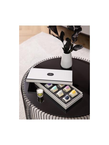 Set de velas perfumadas Exclusive, 10pzas., Recipiente: cristal, Multicolor, Ø 5 x Al 6 cm