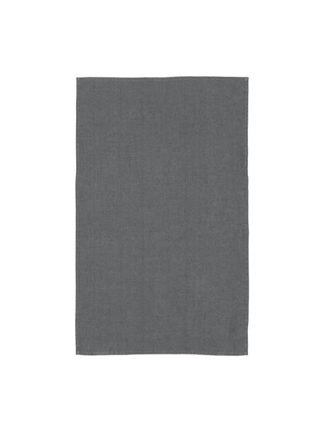 Canovaccio di lino Ruta, Grigio chiaro, Larg. 45 x Lung. 70 cm
