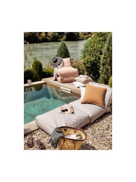 Fotel ogrodowy z funkcją leżenia Pop Up, Tapicerka: 100% poliester Wewnątrz p, Blady różowy, S 70 x G 90 cm
