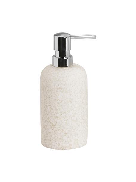 Dispenser sapone Neru, Materiale sintetico, Beige chiaro, Ø 8 x Alt. 19 cm