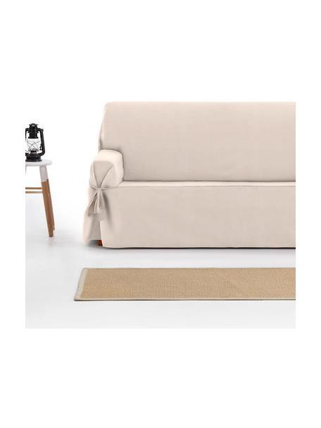 Pokrowiec na sofę Levante, 65% bawełna, 35% poliester, Beżowy, S 160 x W 110 cm