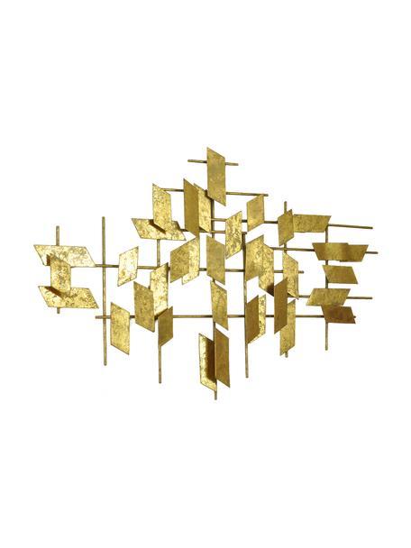 Decorazione da parete in metallo Tara, Metallo, Dorato, Larg. 95 x Alt. 60 cm