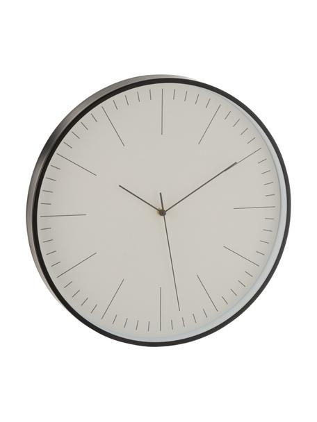 Orologio grande da parete Gerbert, Alluminio rivestito, Nero, Ø 40 cm