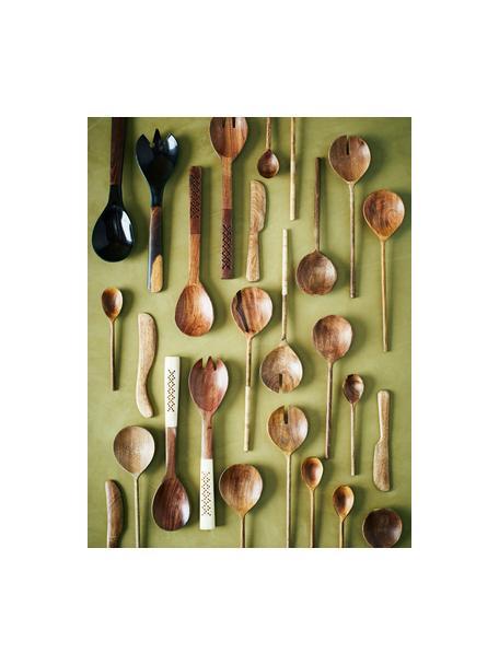 Nóż z drewna mangowego Mali, Drewno mangowe, Beżowy, D 18 cm