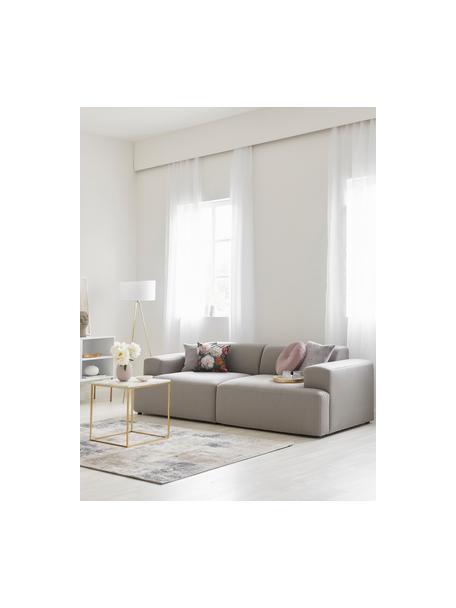 Sofa Melva (3-Sitzer) in Grau, Bezug: 100% Polyester Der hochwe, Gestell: Massives Kiefernholz, FSC, Webstoff Grau, B 238 x T 101 cm