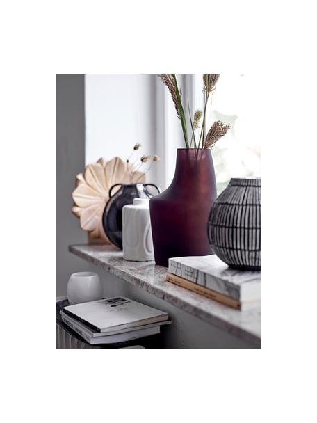Mały wazon z kamionki Elice, Kamionka, Biały, Ø 9 x W 13 cm
