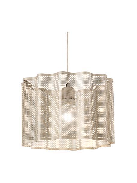 Lámpara de techo Glicine, Pantalla: metal recubierto, Anclaje: metal recubierto, Cable: plástico, Dorado, Ø 40 x Al 28 cm