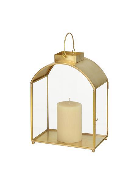 Latarenka Archie, Stelaż: metal, Odcienie złotego, S 18 x W 25 cm