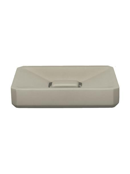 Seifenschale Loft aus Beton, Beton, Grau, 13 x 3 cm