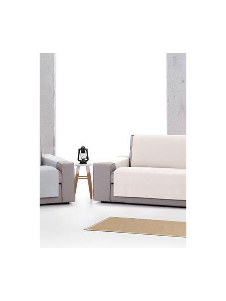 Narzuta na fotel Levante, 65% bawełna, 35% poliester, Szary, S 55 x D 220 cm