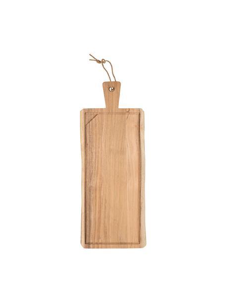 Tabla de cortar grande de madera de acacia Albert, Madera de acacia, Madera de acacia, L 60 x An 23 cm
