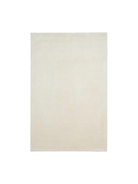Miękki dywan z wiskozy premium i połyskiem Grace, Kremowobiały, S 117 x D 180 cm (Rozmiar S)