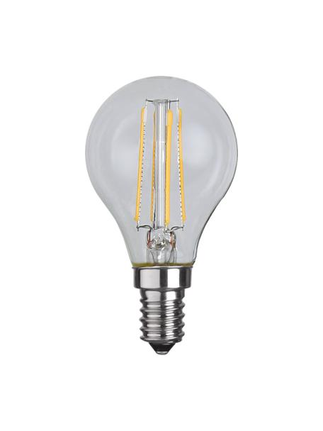 Lampadina E14, 470lm, bianco caldo 2 pz, Lampadina: vetro, Trasparente, Ø 5 x Alt. 8 cm