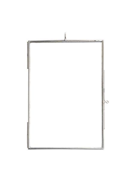 Portafoto da parete in acciaio Key, Vetro, metallo rivestito, Acciaio inossidabile, 10 x 15 cm
