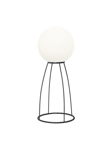 Lampada a LED da esterno Gardenlight, Paralume: materiale sintetico, Struttura: metallo, Bianco, nero, Ø 29 x Alt. 70 cm