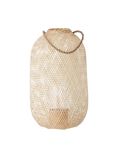Lantaarn Musu van jute, Beige, Ø 35 x H 60 cm