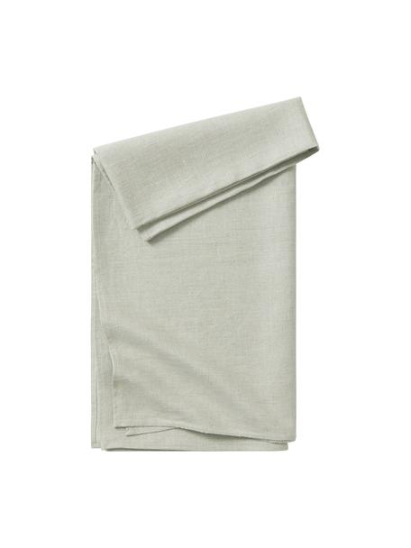Tovaglia in lino verde/grigio Heddie, 100% lino, Grigio-verde, Per 4-6 persone (Larg.145 x Lung. 200 cm)