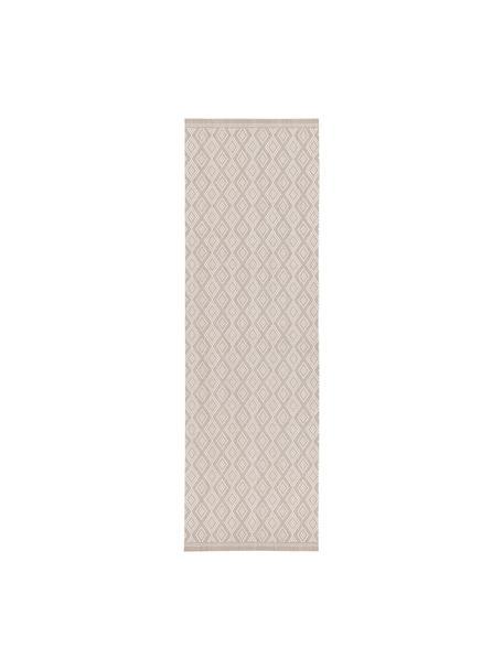 In- & Outdoor-Läufer Capri in Beige/Creme, 86% Polypropylen, 14% Polyester, Cremeweiss, Beige, 80 x 250 cm