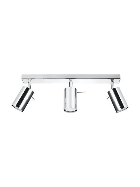 Riel Etna, Estructura: acero cromado, Anclaje: acero cromado, Cromo, An 45 x Al 15 cm