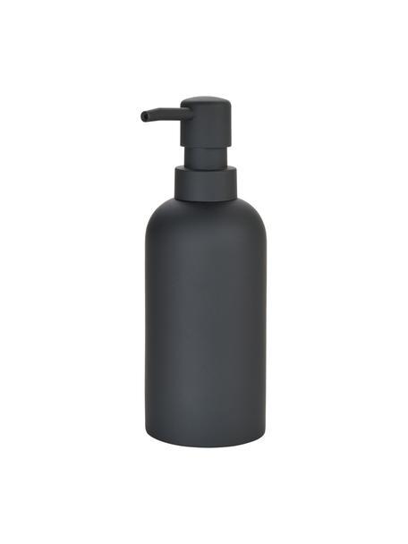 Dosificador de jabón Archway, Recipiente: poliresina, Negro, Ø 7 x Al 19 cm