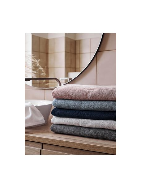 Asciugamano in tinta unita Comfort, diverse misure, Grigio chiaro, Asciugamano per ospiti