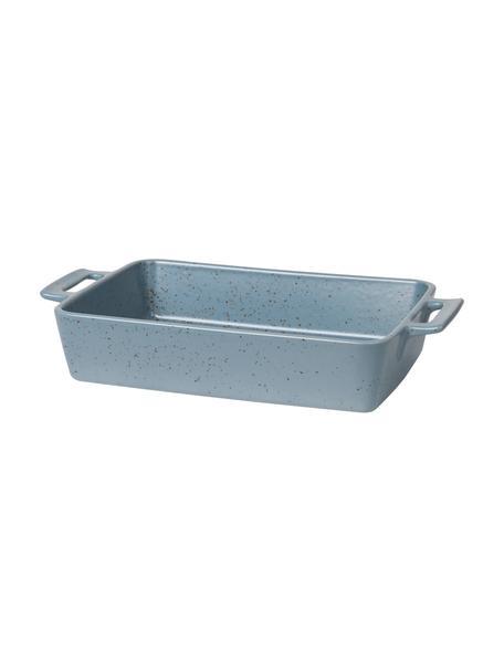 Naczynie żaroodporne do pieczenia z kamionki Hasle, Kamionka, Niebieski, D 37 x S 22 cm