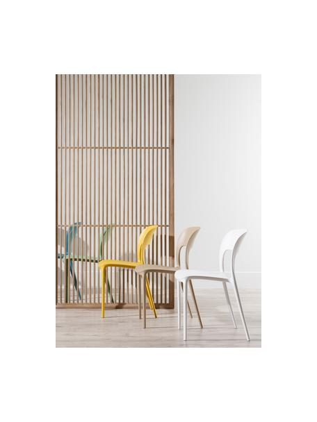 Krzesło z tworzywa sztucznego Valeria, Tworzywo sztuczne (PP), Biały, S 43 x G 43 cm