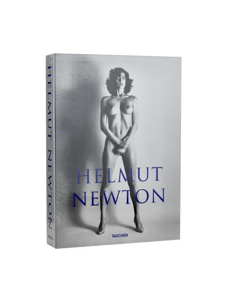 Bildband Helmut Newton – Sumo, Papier, Hardcover, Grau, Blau, 27 x 37 cm