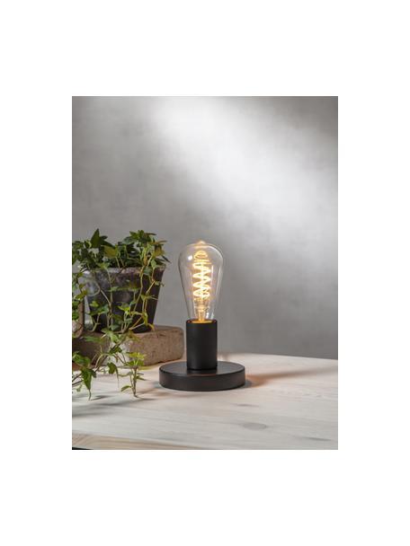 Bombilla regulable E27, 4W, blanco cálido, 1ud., Ampolla: vidrio, Casquillo: aluminio, Transparente, Ø 6 x Al 14 cm