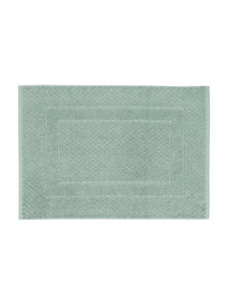 Badmat Katharina in mintgroen, 100% katoen, zware kwaliteit, 900 g/m², Mintgroen, 50 x 70 cm