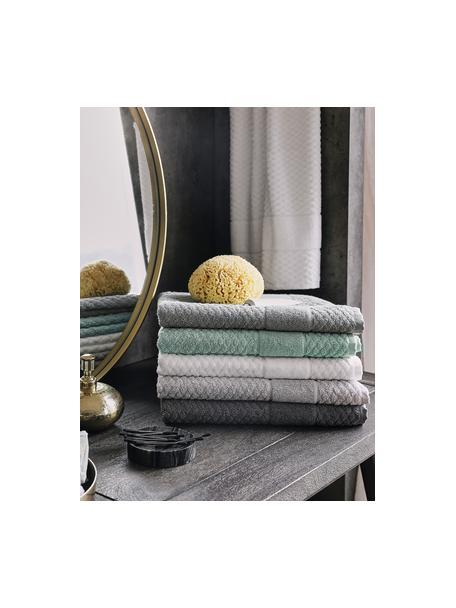 Alfombrilla de baño Katharina, 100%algodón Gramaje superior, 900g/m², Verde menta, An 50 x L 70 cm