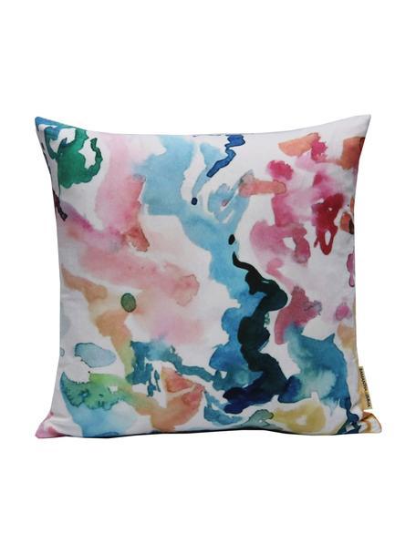 Federa arredo colorata Zuza, Poliestere, Multicolore, Larg. 40 x Lung. 40 cm