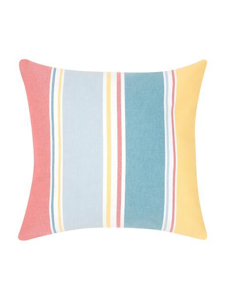 Federa arredo a righe colorate Linea, 100% cotone, Multicolore, Larg. 50 x Lung. 50 cm
