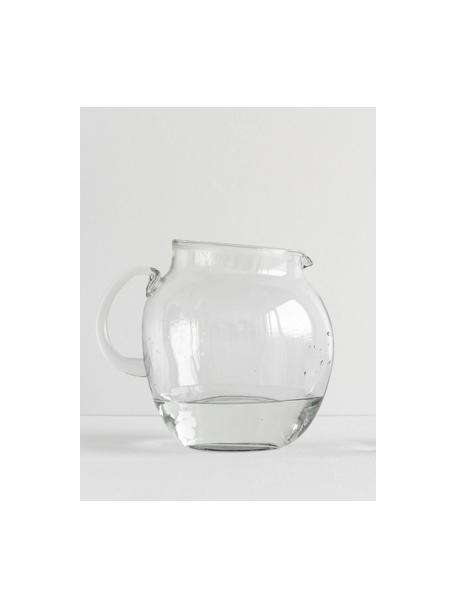 Krug Unexpected aus recyceltem Glas, 3 L, Recyceltes Glas, Transparent, 17 x 20 cm