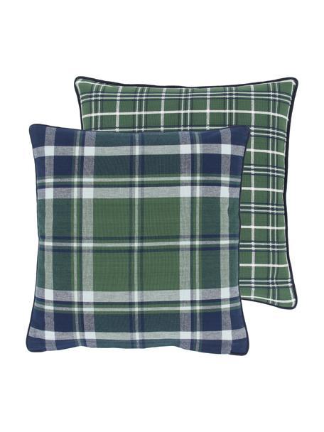 Dwustronna poszewka na poduszkę z lamówką Stirling, 100% bawełna, Wielobarwny, S 45 x D 45 cm