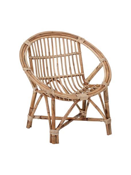 Fotel dla dzieci Jubbe, Rattan, Beżowy, S 53 x W 55 cm