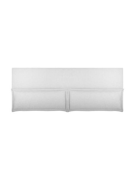 Cabecero Comfort, Estructura: madera de pino, madera co, Blanco crudo, An 160 x Al 80 cm