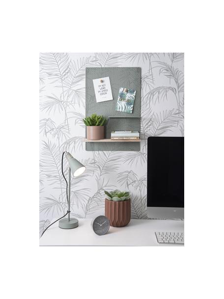 Portavaso in ceramica Stripes, Ceramica, Marrone, Ø 15 x Alt. 15 cm