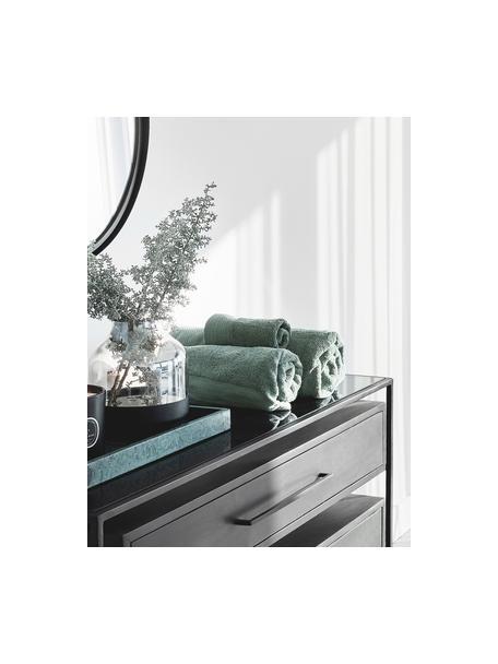 Handtuch-Set Premium mit klassischer Zierbordüre, 3-tlg., Salbeigrün, Set mit verschiedenen Größen