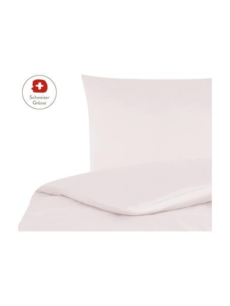 Baumwollsatin-Bettdeckenbezug Comfort in Rosa, Webart: Satin, leicht glänzend Fa, Rosa, 160 x 210 cm