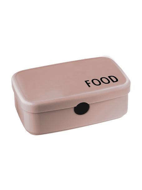 Pudełko na lunch Food, Nowoczesne tworzywo TRITAN (tworzywo sztuczne, bez BPA), Beżowy, S 18 x W 6 cm